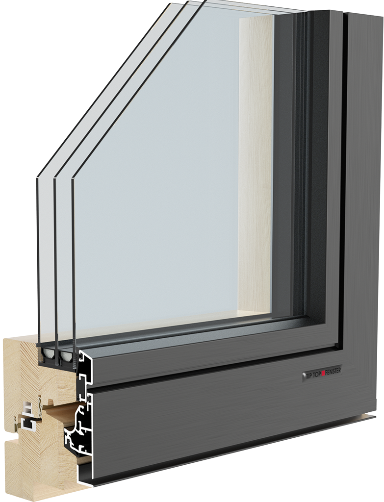 Aluclima design 95 tip top fenster for Fenster 0 95
