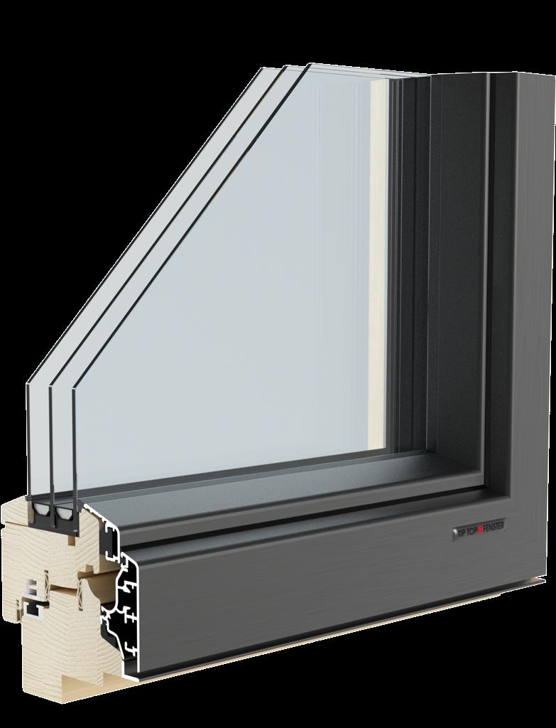 Aluclima 95 tip top fenster for Fenster 0 95